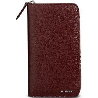 Burberry London Leather Ziparound Wallet - レッド