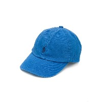 Ralph Lauren Kids embroidered logo cap - ブルー