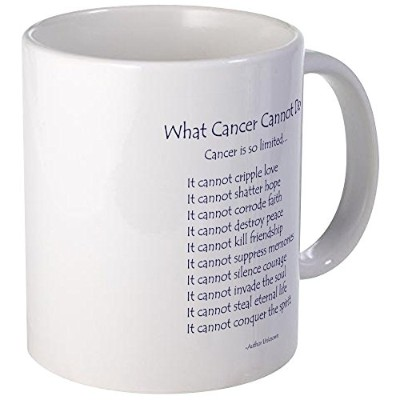 CafePress – What CancerできませんDo Inspirational Cancer詩Mu – Uniqueコーヒーマグカップ、コーヒーカップ S 0906240933FF0CA
