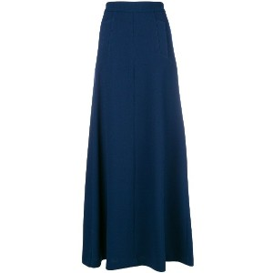 P.A.R.O.S.H. full flared skirt - ブルー