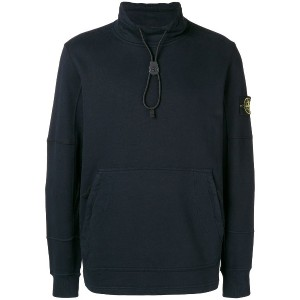 Stone Island high neck sweater - ブルー