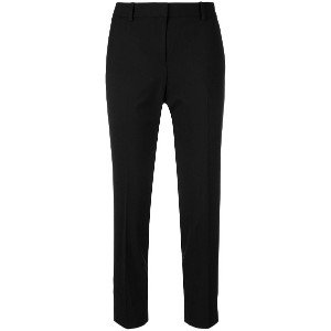 Theory slim-fit cropped trousers - ブラック