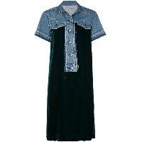 Sacai loose fitted summer dress - ブルー
