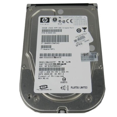 HP HDD 300GB SAS 15000RPM 3.5'' SPS
