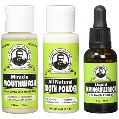 Remineralization Kit for Tooth Enamel for Mineralizing Teeth (1 Kit) by Uncle Harry's Natural...