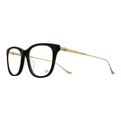 CHROME HEARTS JEJE SPOT BLACK GOLD PLATED 52-18-132 クロムハーツ アイウェア 眼鏡 2018 EYEWEAR