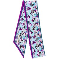 Emilio Pucci small printed scarf - ピンク&パープル