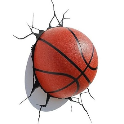 3d Deco Mini Night Light Basketball