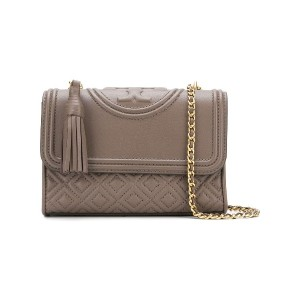 Tory Burch Fleming small convertible shoulder bag - グレー