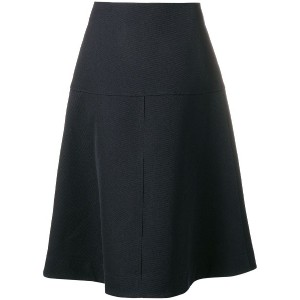Jil Sander Navy flared skirt - ブルー