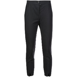Lost & Found Ria Dunn cropped tapered trousers - ブラック