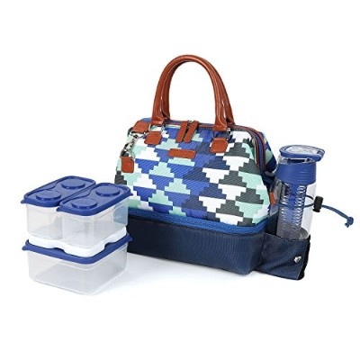 Arctic Zone Lunch Tote–ブルー