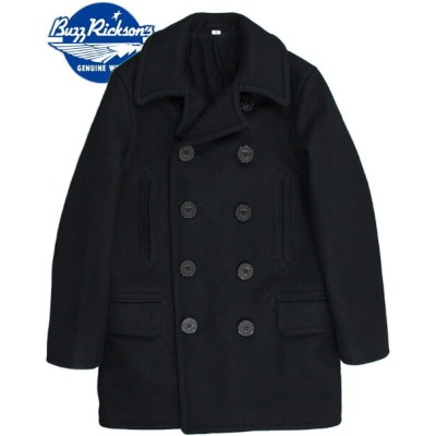 "BUZZ RICKSON'S/バズリクソンズ ENLISTED MAN'S OVERCOAT TYPE PEA COAT ""NAVAL CLOTHING FACTORY""WOOL LINING P..."