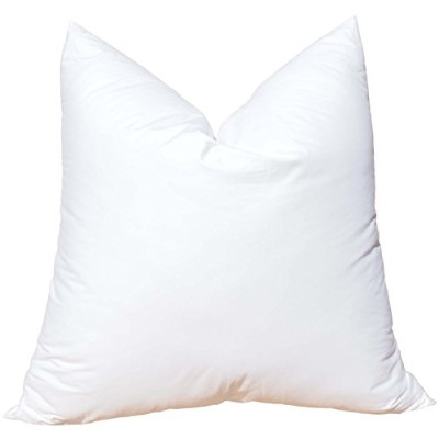 Pillowflex Synthetic Down Pillow Inserts for Shams Aka Faux / Alternative (26 Inch by 26 Inch) by...