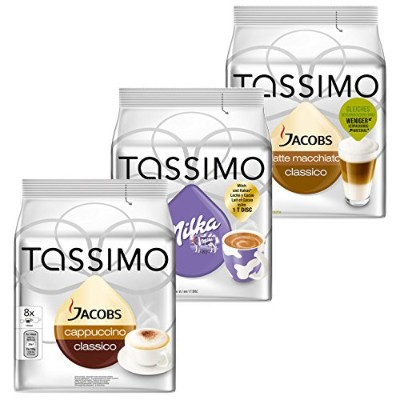 Tassimo Cream Collection, 3 Sortes, 48 T-Discs, 24 Portions