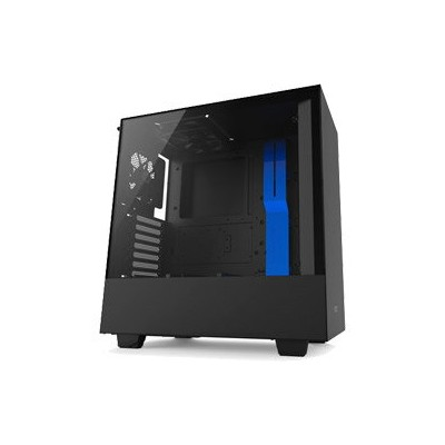 NZXT H500 without SmartDevice Model CA-H500B-BL (ミドルタワーケース/電源別売り/ブラック・ブルー) (CAH500BBL)