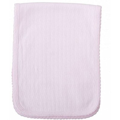 ピンクPointelle Burp Cloth