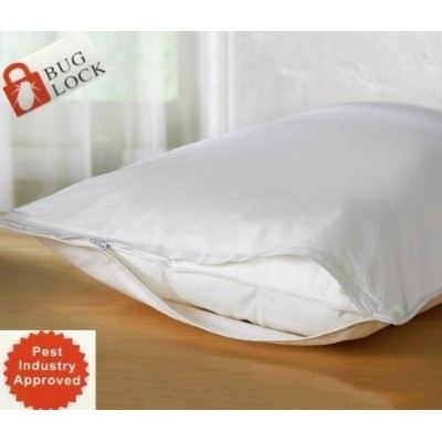 "(Queen (21""x""28)) - Premium BED Bugs Pillow Protector a Set of 2 Pillow Protectors - Lifetime Warranty (Queen (21""x""28))"