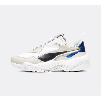 プーマ レディース シューズ・靴 スニーカー【Womens Thunder Electric Trainer】White / Grey Violet / Blue