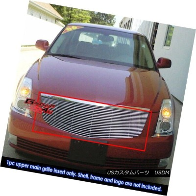 USグリル For 06-10 Cadillac DTS Billet Grille Grill Insert 06-10キャデラックDTSビレットグリルグリルインサート用
