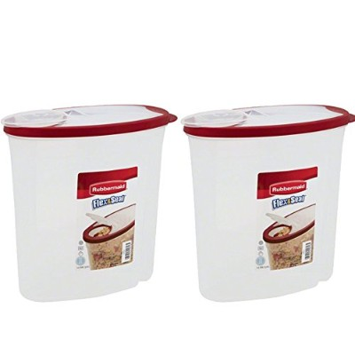 RubbermaidモジュラーCereal Keeperパックof 2 1.5 Gal, 2-Pack