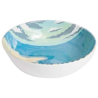 Galleyware Seaside Melamine Soup/Cereal Bowls (Set of 6)