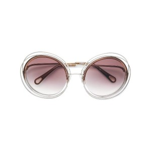 Chloé Eyewear Carlina sunglasses - メタリック