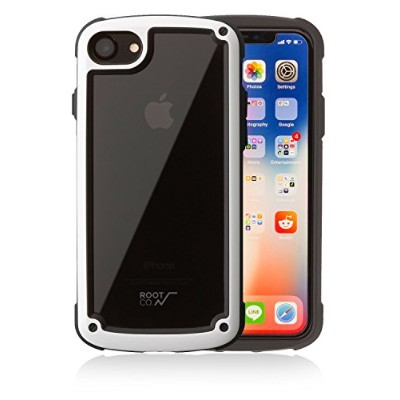 【ROOT CO.】 iPhone8 iPhone7 耐衝撃 ケース Gravity Shock Resist Tough & Basic Case. (ホワイト)
