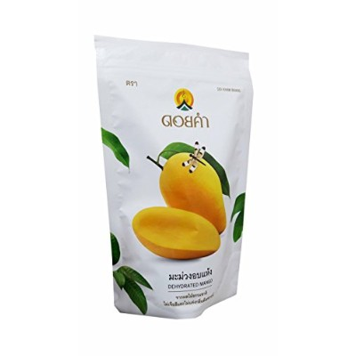 Doi Kham, 2 Packs of Dehydrated Mango, Made From Real Mango, Delicious Snack From Doi Kham Brand,...