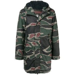 G-Star Raw Research hooded military jacket - グリーン