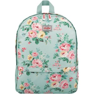 【SALE 30%OFF】キャス キッドソン Cath Kidston キッズ メッシュポケット パッデッド ラックサック ウィズ チェストストラップ ヴィンテージバンチ (ペールセラドン)