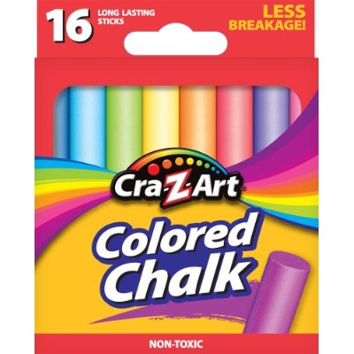 Cra-Z-Art Colored Chalk, 16 Count (10801-48) by Cra-Z-Art