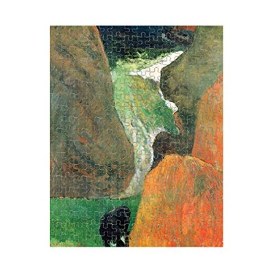 Hover Above the Abyss ( Gauguin )ジグソーパズル印刷 252 Pieces PUZLGAUG072_R_252P