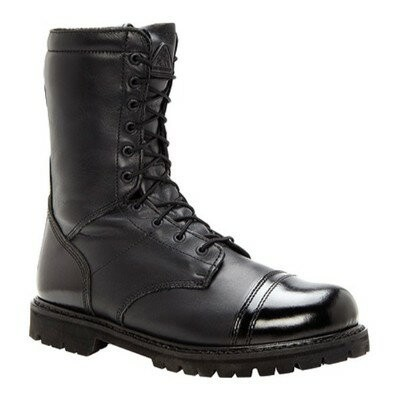 ロッキー レインシューズ・長靴 Waterproof Zipper Paraboot 2095 Black Leather