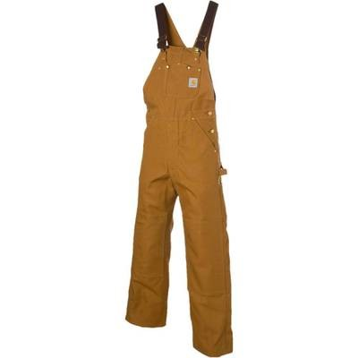 カーハート オーバーオール Duck Bib Overall Pants Carhartt Brown