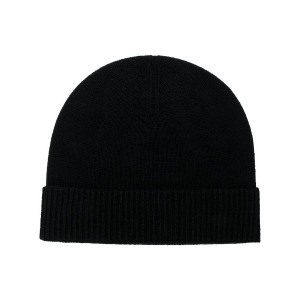 Pringle Of Scotland ribbed knit beanie - ブラック