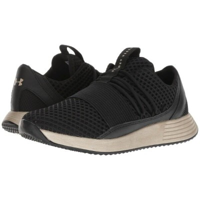アンダーアーマー Under Armour レディース シューズ・靴 スニーカー【UA Breathe Lace X NM】Black/Metallic Faded Gold/Metallic...