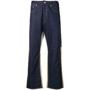 Junya Watanabe cropped fit jeans - ブルー