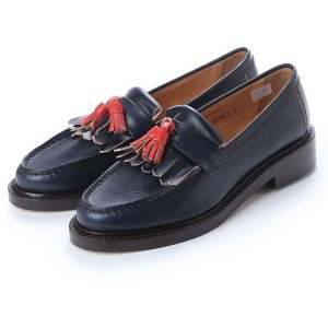 ディガウト DIGOUT ELTON (Tasseled Loafers) (NAVY) レディース