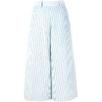 See By Chloé high-waist cropped trousers - ブルー