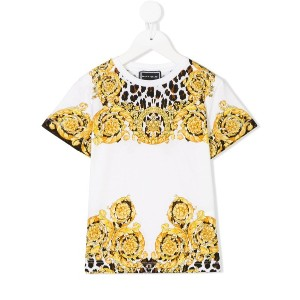 Young Versace プリント Tシャツ - ホワイト