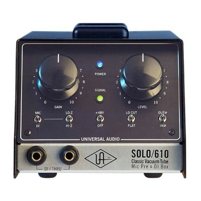Universal Audio SOLO/610 Classic Tube Preamplifier and DI Box