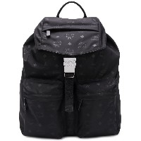 MCM medium two pocket Dieter backpack - ブラック
