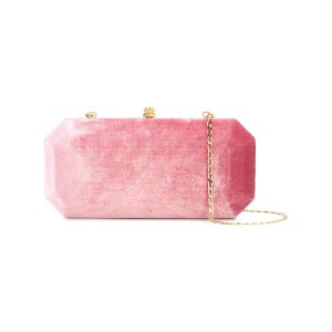 Tyler Ellis Perry large clutch bag - ピンク