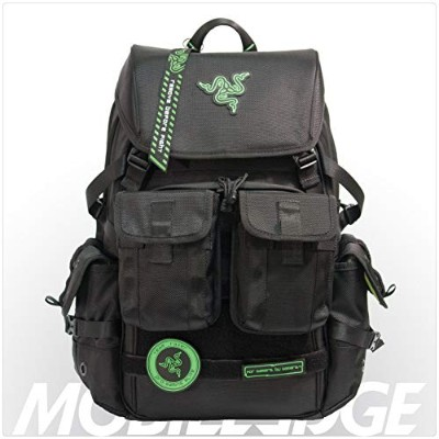 Mobile Edge Black Razer Tactical ゲーミングバックパック Model RAZERBP17