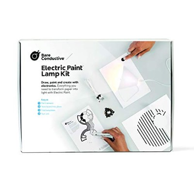 Bare Conductive エレクトリックペイントランプキット LED ライト 工作 キット Electric Paint Lamp Kit