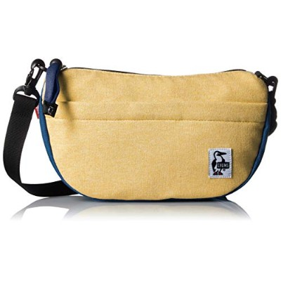 [チャムス] ショルダーバッグ Mini Banana Shoulder H Barley/Blue Planet