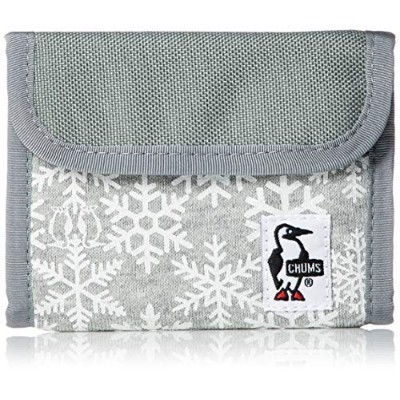 [チャムス]財布 Trifold Wallet Sweat Nylon Snowflake