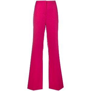 Versace Vintage bootcut tailored trousers - ピンク&パープル