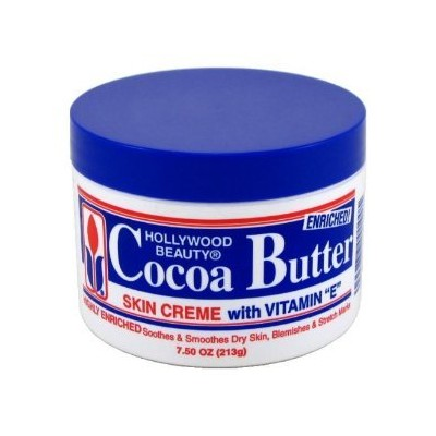 Hollywood Beauty Cocoa Butter with Vitamin-E 222 ml (Pack of 6) (並行輸入品)